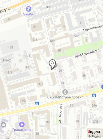 Акулов К.А. на карте