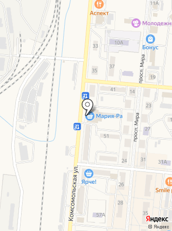 Цимус на карте