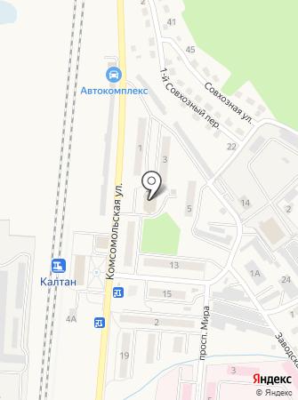 Терабит на карте