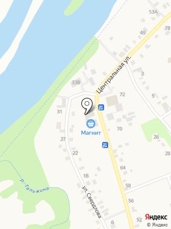 Околица на карте