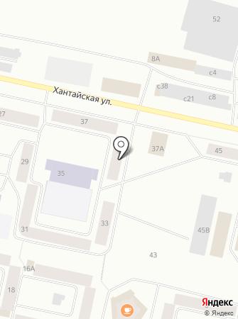 Таймырлифт на карте