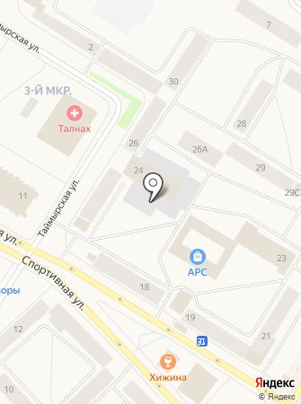 Баринъ на карте