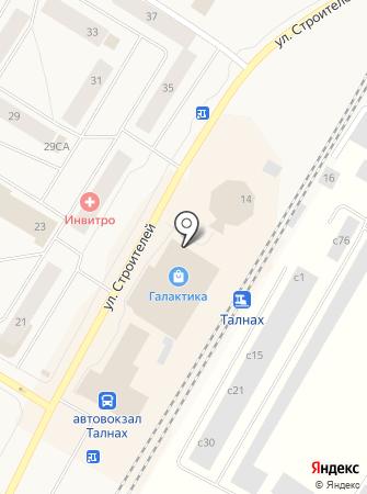 Миксик на карте