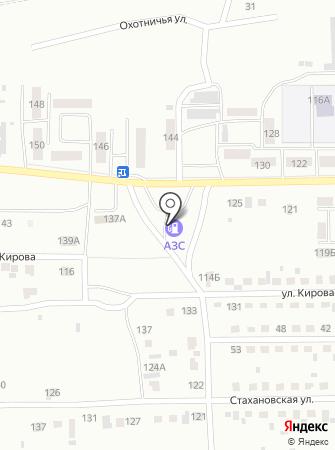 АЗС 9й на карте