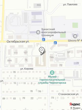 ВГСЧ на карте
