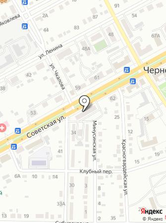 Кабриолет, магазин автозапчастей ГАЗ, Волга на карте