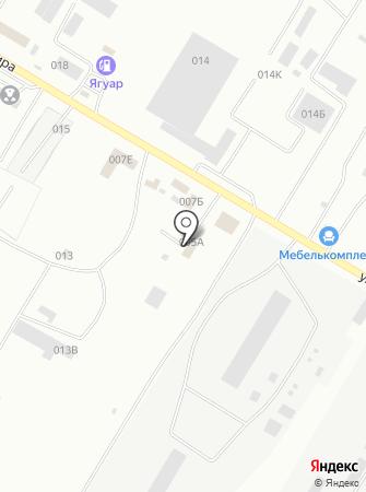 СТО грузовой техники на карте