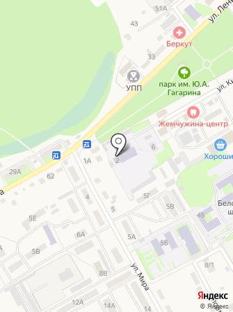 Специальная (коррекционная) общеобразовательная школа-интернат на карте