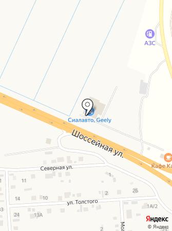Редут Абакан на карте