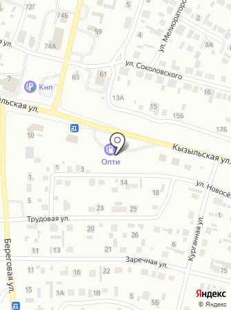 АЗС Дельта на карте