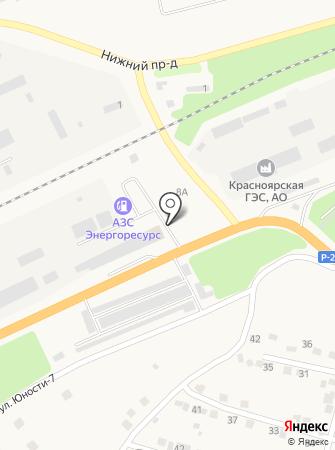 АЗС Фортуна Плюс на карте