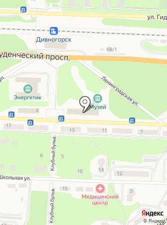Прокуратура г. Дивногорска на карте