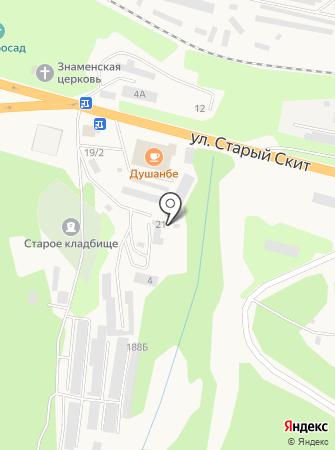 Даар на карте