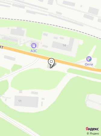 Skad на карте