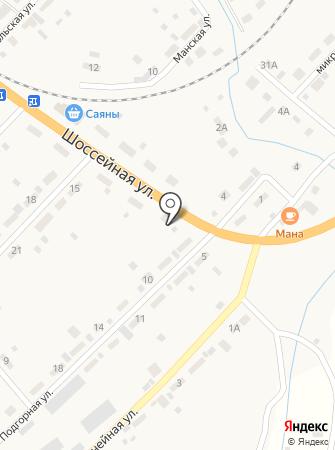 Гермес на карте