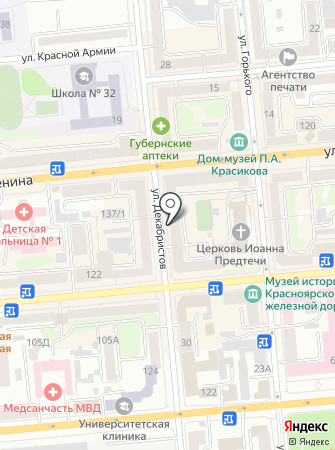 Баттиста на карте