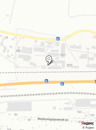 Каспер на карте