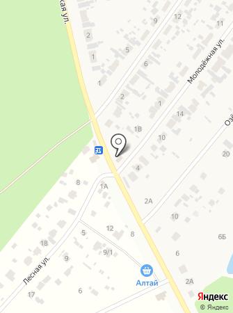 Фазенда на карте