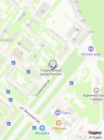 Прокуратура г. Сосновоборска на карте
