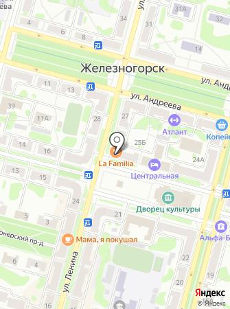 Красноярский хлеб на карте