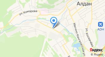 Алданский Ремонтный Энергомеханический завод на карте