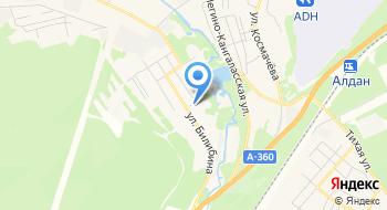 Отделение почтовой связи Алдан 678902 на карте