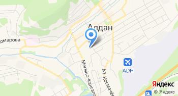 Средняя Общеобразовательная школа № 1 г. Алдан МО Алданский район на карте