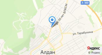ОГИБДД отдела МВД России по Алданскому району на карте