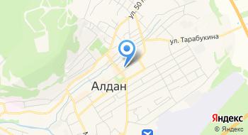 Фирма Алдан на карте