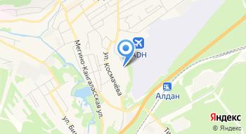 Алданское ПО Дочернее Общество Сахаавтотранс на карте