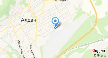 Детский сад Компенсирующего Вида Крепыш МО Алданский район на карте