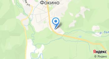 Отделение почтовой связи Фокино 692881 на карте