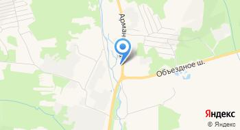 Покровский женский монастырь на карте