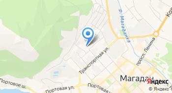 Учебно-методический центр по обучению гражданской обороне, защите населения, территорий и пожарной безопасности Магаданской области на карте