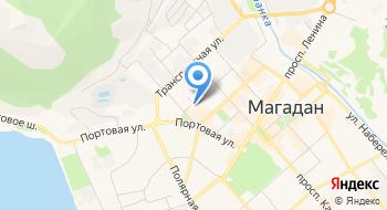 Отделение почтовой связи Магадан 685017 на карте
