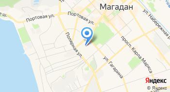 Магаданская Областная больница на карте