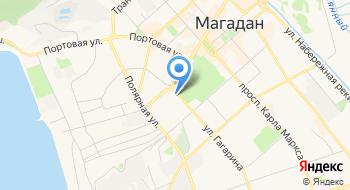 Магадан-Тест на карте