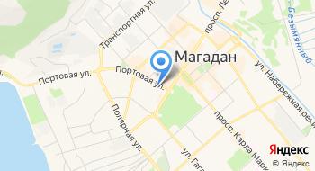 Банк Возрождение, Магаданский филиал на карте