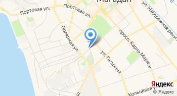 Магаданская Областная Станция Переливания Крови на карте