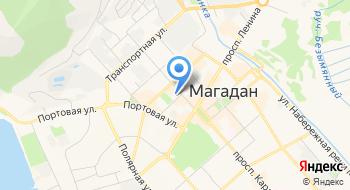 Магаданское отделение СТД РФ на карте