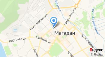 УМВД России по Магаданской области на карте