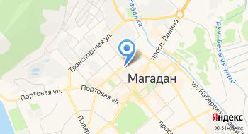 Управление Внутренних Дел г. Магадана на карте