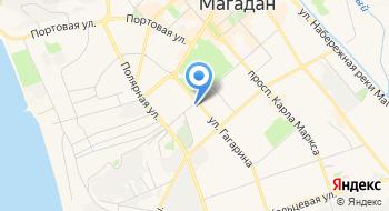 Отделение почтовой связи Магадан 685024 на карте