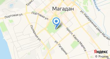 Магаданский областной театр кукол на карте