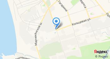 Буборг-Прим, пункт выдачи номерных знаков на карте