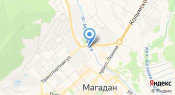 BRP РПМ Спутник Магадан на карте