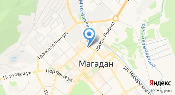 Магаданский ГОСП №1 на карте