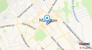 Мэрия города Магадана на карте