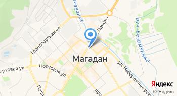 Коллегия адвокатов Магаданской области Дальневосточная на карте