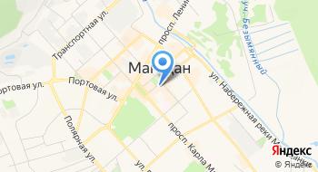 Правительство Магаданской области на карте